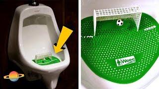 10 kreatywnych reklam w publicznych toaletach