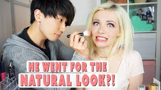 Korean Boyfriend Does My Makeup
