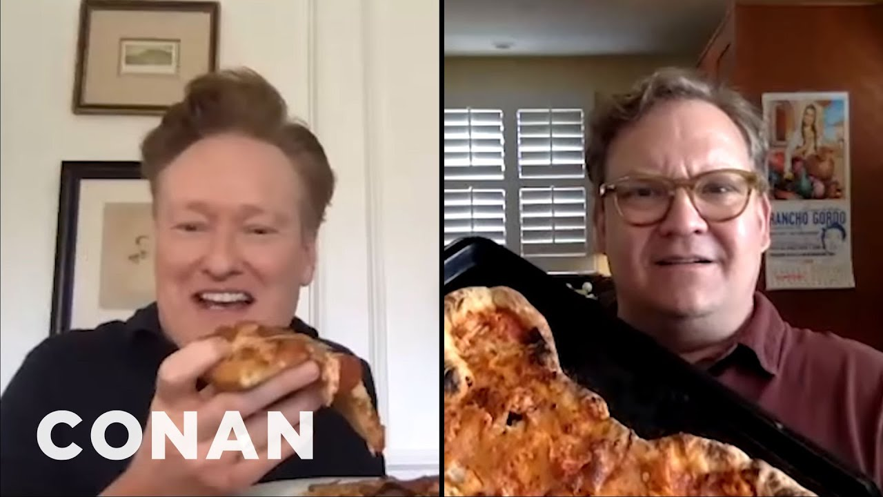Conan & Andy's Pizza-Making Contest - CONAN on TBS