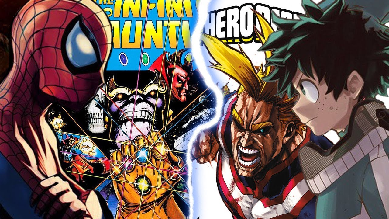 My Hero Academia Gets Avengers: Infinity War Crossover Collaboration