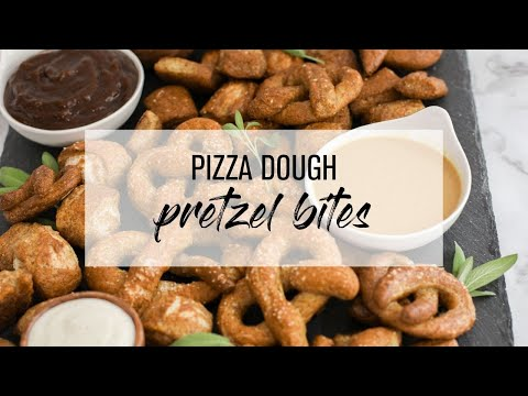 How to make homemade pretzels with pizza dough