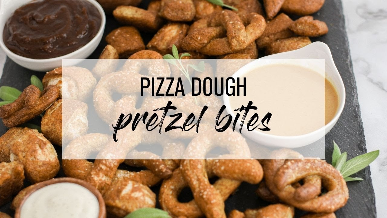 Pizza Dough Pretzel Bites Youtube
