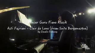 Video Konser Guru Piano Klasik - Asti Fajriani - Clair de Lune from Suite Bergamasque (cover) download MP3, 3GP, MP4, WEBM, AVI, FLV Mei 2018