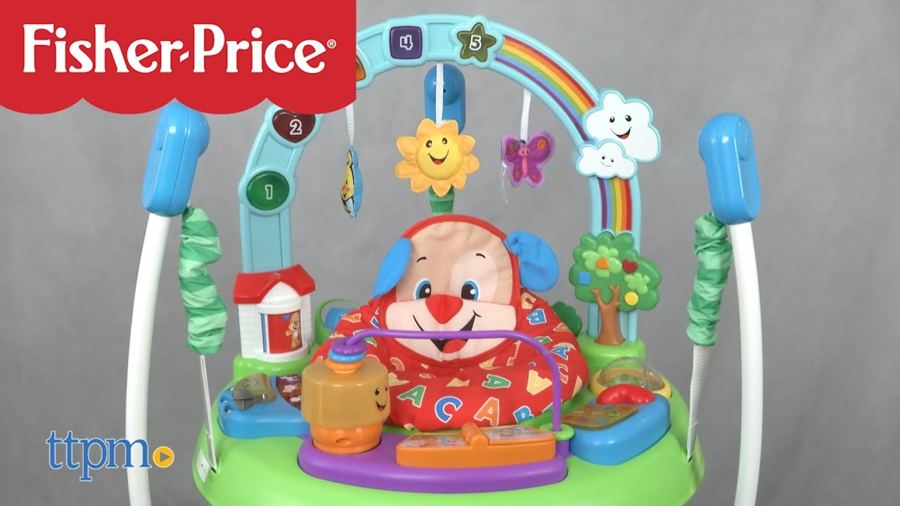 0c9f2e6229 Laugh & Learn Puppy's Activity Jumperoo from Fisher-Price - YouTube