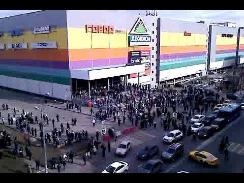 эвакуация народа из торгового центра