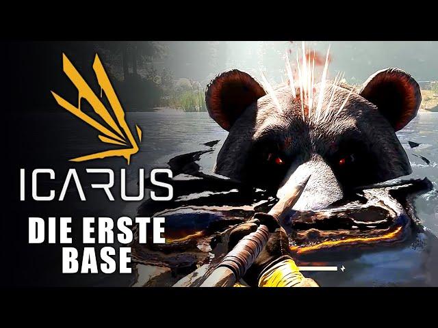 Icarus 🌿 Die erste Base #02 [Lets Play | Gameplay Deutsch]