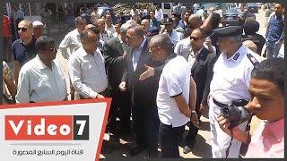 بالفيديو.. محافظ الجيزة يشن حملة لرفع الإشغالات فى بولاق الدكرور