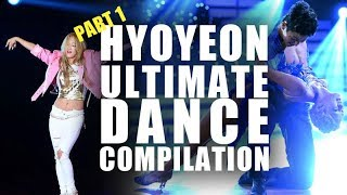 SNSD HYOYEON ULTIMATE DANCE COMPILATION PART 1
