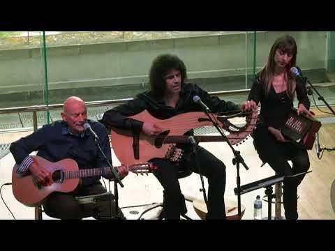 "Traditional English Folk - Simone Sorini DD. feat. Tony Seeger ""The snow it melts.."" Live 2017"