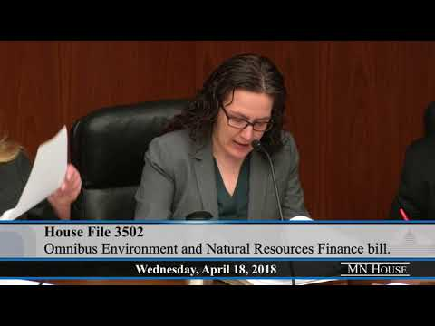 Overview of the omnibus environment and natural resources finance bill
