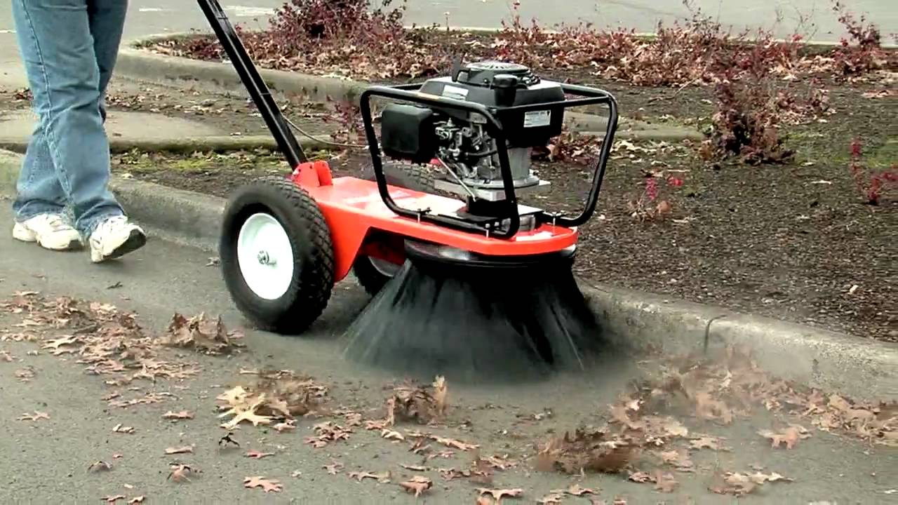 Bensink Rotary Broom Video Youtube