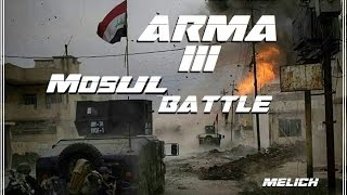 ARMA 3 : Iraqi SOF Convoy Under Heavy Fire !!