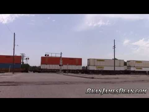 BNSF Railroad Freight Train | Wichita, Kansas | 6-24-13