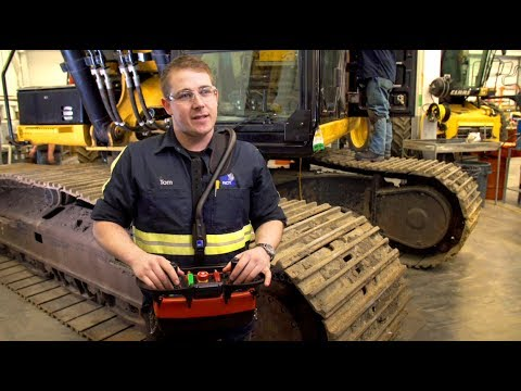 RCT Remote control excavators & bulldozers - Ziegler CAT (Western Contracting Automation)
