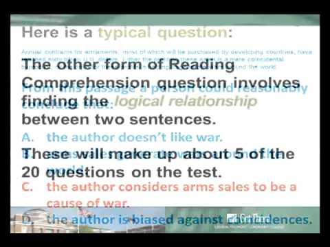 ACCUPLACER - Reading Comprehension