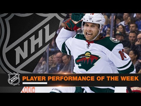 Jason Zucker nets six consecutive Wild goals during sick scoring outburst