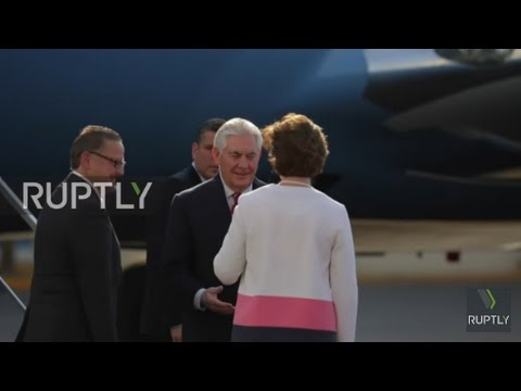 Mexico: Tillerson arrives for talks in Mexico City amid strained relations