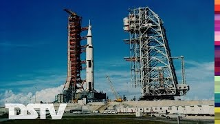 THE APOLLO 11 LAUNCH AS IT HAPPENED LIVE ON NBC - 07/16/1969