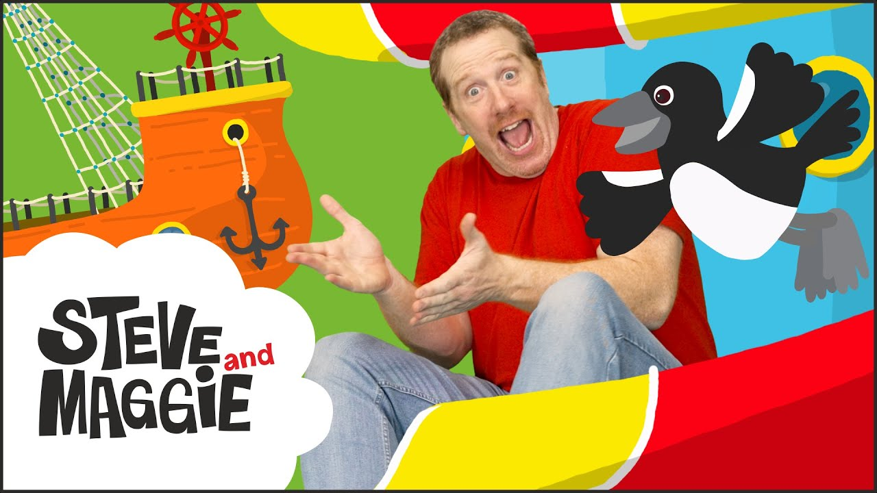 Let's Play at the Playground with Steve and Maggie | Playground Tag Game for Kids | Wow English TV