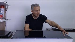 LED TV Dikey çizgi arızası. LCD TV Panel Arızası Nasıl Oluşur, Ne Olur?