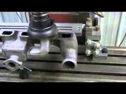 reconditioning a 8n exhaust manifold