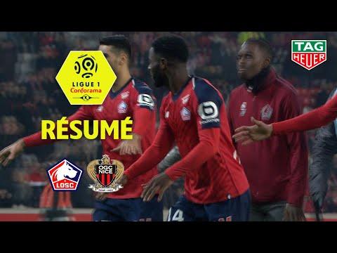 LOSC - OGC Nice ( 4-0 ) - Résumé - (LOSC - OGCN) / 2018-19