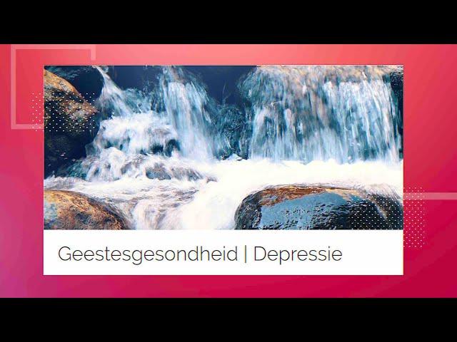 Die Putstop | 10 Maart | Depressie