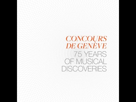 Maurizio Pollini (2nd Prize 1958, Piano) Concours de Genève 75 Years of Musical Discoveries
