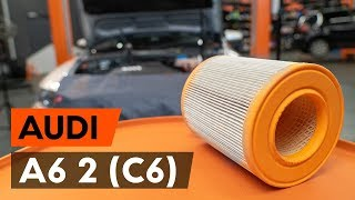 Csapágyazás, kerékcsapágy ház csere AUDI A6 (4F2, C6) - kézikönyv