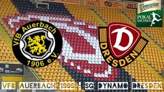 Zusammenfassung   VfB Auerbach - SG Dynamo Dresden 0:1 n.V.  Sachsenpokal-Viertelfinale   15.11.2015