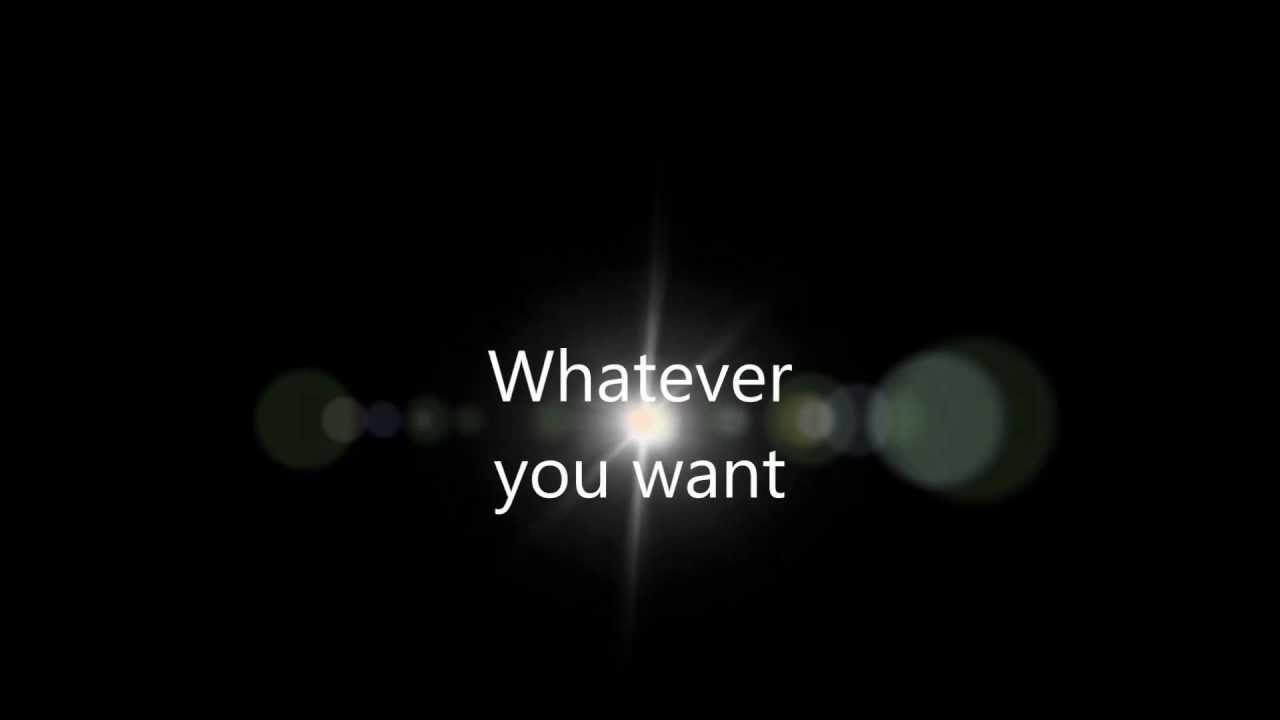 Anything you want lyrics - Sydney Renae - YouTube