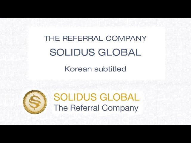The Referral Company - Solidus Global - Korean CC
