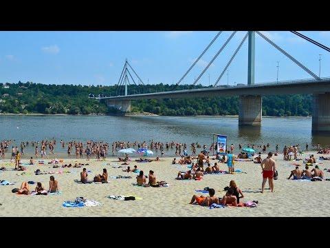 Štrand beach, Novi Sad, Serbia