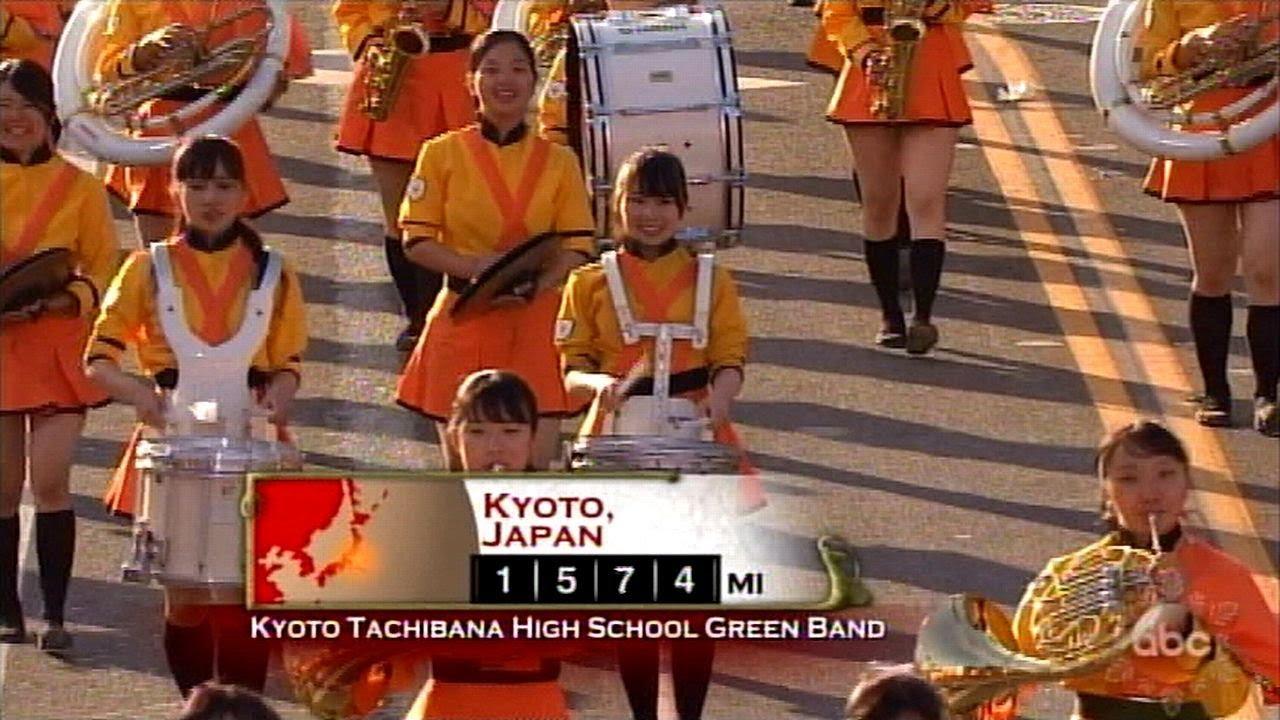 京都 橘 高校 吹奏楽 部 ローズ パレード