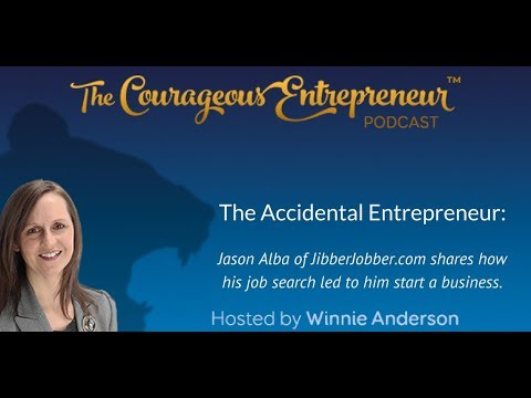 Jason Alba - Accidental Entrepreneur | Courageous Entrepreneur show