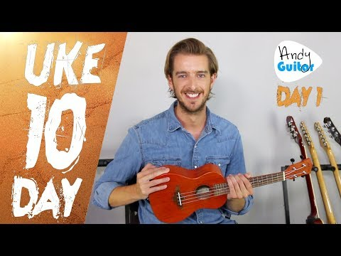 Ukulele Lesson 1 -  Absolute Beginner? Start Here! [Free 10 Day Course]