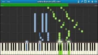 Johann Strauss II - Die Fledermaus Overture piano (Synthesia)