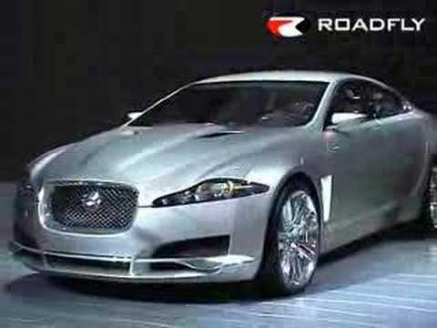 Roadfly.com - Jaguar XF C-XF Concept Car from Detroit NAIAS