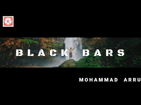 How To Make Black Bars Open Cinematic Effect In Kinemaster | Kinemaster Tutorial | Mohammad Arru