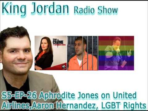 S5 EP 26 Aphrodite Jones on United Airlines,Aaron Hernandez, LGBT Rights