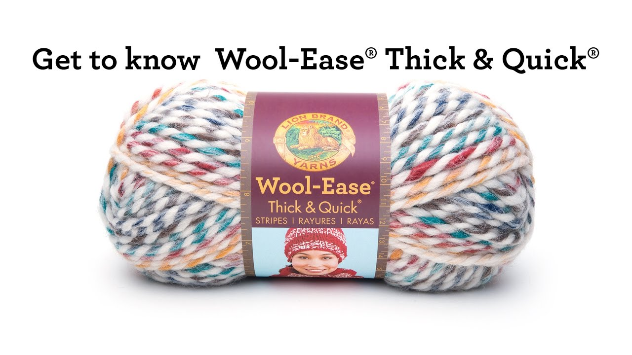 Wool-Ease Thick & Quick at Lion Brand Yarn | Lion Brand Yarn