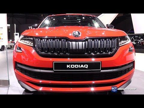 2018 SKODA KODIAQ SportLine - Exterior and Interior Walkaround - 2017 Geneva Motor Show