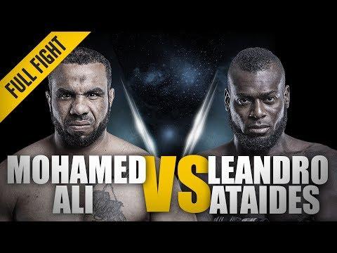 ONE: Full Fight | Mohamed Ali vs. Leandro Ataides | Epic Flying Knee KO | December 2016