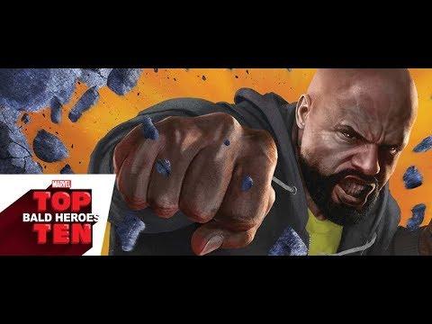 Top 10 Bald Heroes   Marvel Top 10