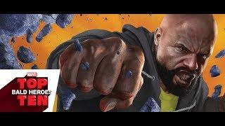 Top 10 Bald Heroes | Marvel Top 10