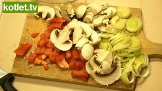 Recipe | Poledwiczki wieprzowe w pieczarkach www.kotlet.tv HD