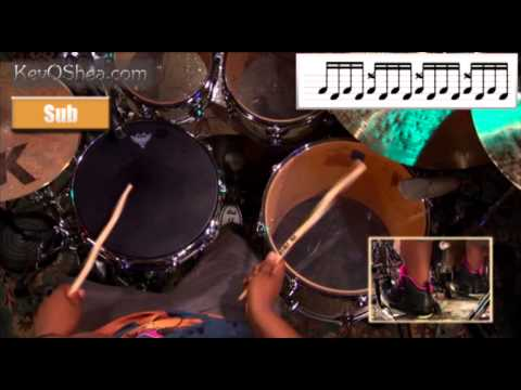 Aaron Spears Linear Drumming Pattern | Drum Lesson