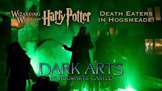 DEATH EATERS at Wizarding World of Harry Potter | Dark Arts at Hogwarts Castle Universal Orlando