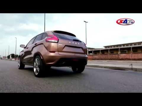 Lada Vesta Concept i Lada X Ray 2 Concept SAT TV Show