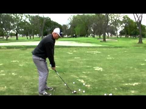 Golf Swing - Hitting Solid Iron Shots and Compressing the Golf Ball